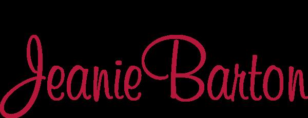 jeane barton logo red
